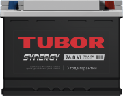 TUBOR SYNERGY 6CT-75.0 VL обр. АКБ  278/175/190 (710А)